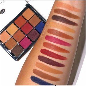 VISEART Neutral Mattes Milieu Eyeshadow Palette